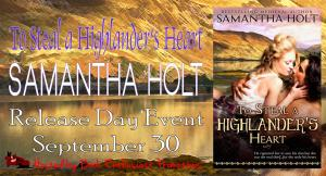 To Steal A Highlander's Heart.Release Day Banner