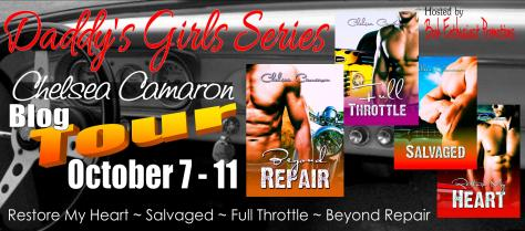 Daddy's Girl Series Blog Tour Banner