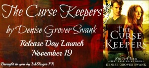 The Curse Keepers Release Day Launch Banner