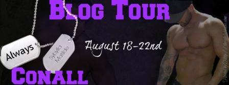 Always Conall Blog Tour Banner