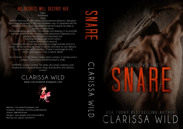 snare paperback cover